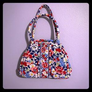 Large Vera Bradley clasp purse